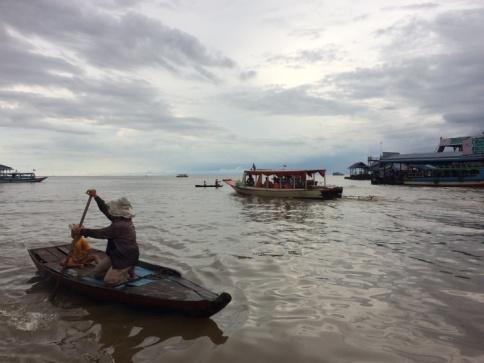 โตนเลสาบ ทะเลสาบที่ใหญ่ที่สุดในกัมพูชา เอเซียอาคเน